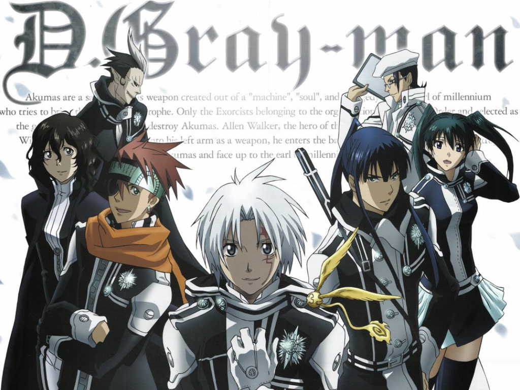 D.Gray-Man — Characters Power вики