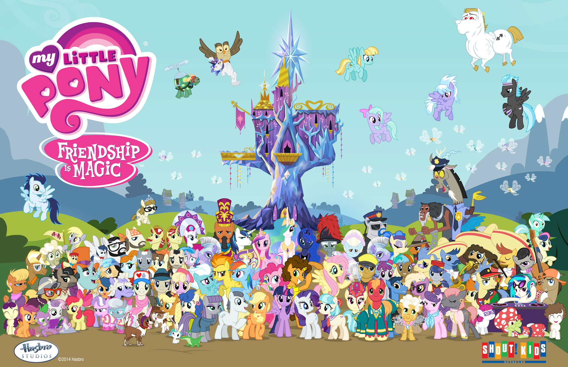 My little pony friendship is magic character profile - My little pony wikia ...