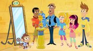 Fresh Beat Band of Spies Commissioner Goldstar The Nickelodeon Nick Jr. Character 3