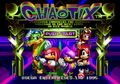 Chaotix cover