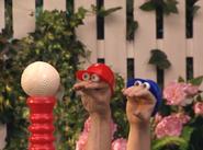 Oobi Kako Noggin Nick Jr Hand Puppet TV Show Character 9