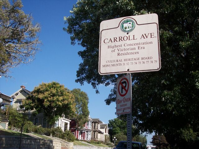 File:Carroll Avenue-Sign1.jpg