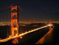 Golden Gate Night