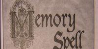 Memory Spell