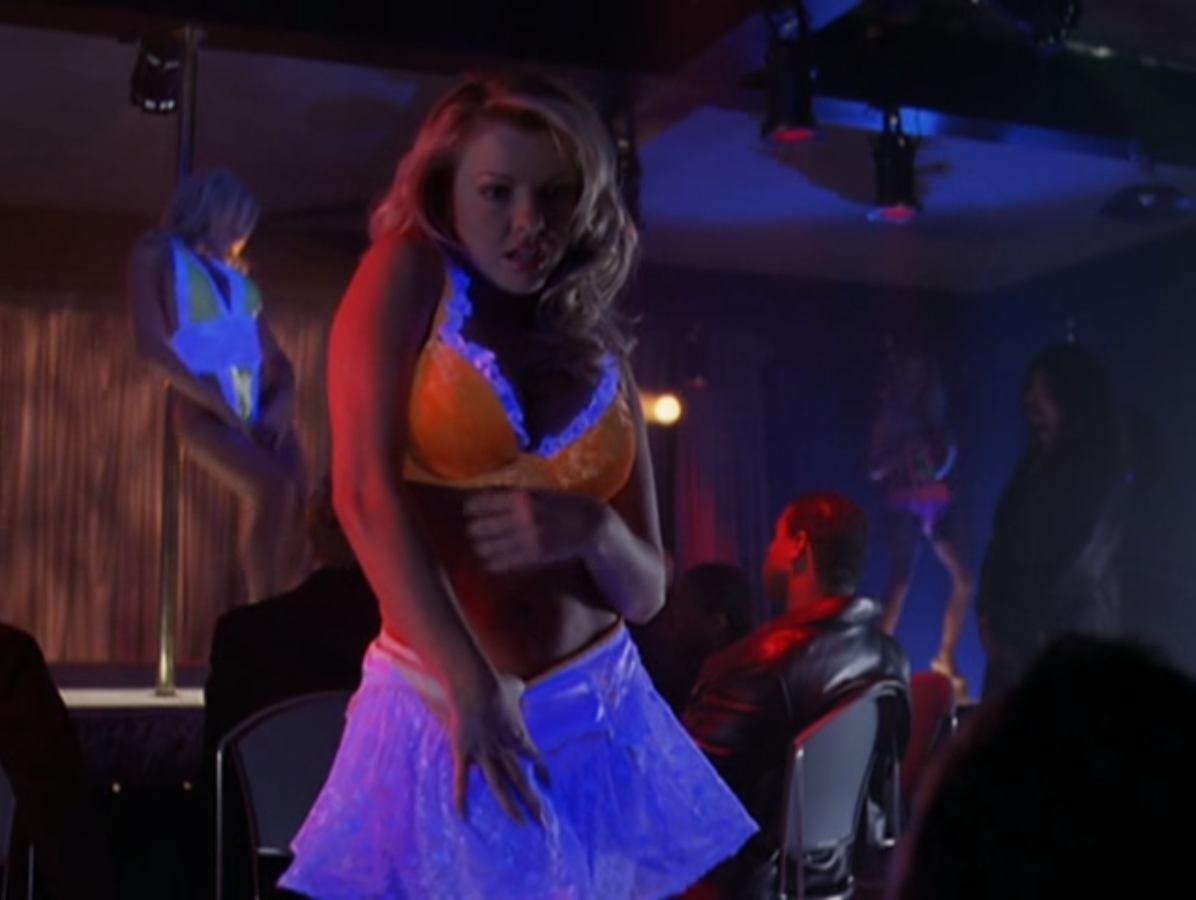 from Marshall alyssa milano stripper scene