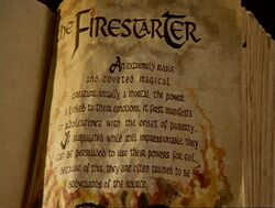 Firestarter bos