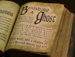 Banishing a ghost