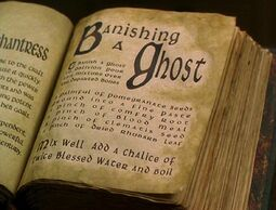 Banishing a ghost