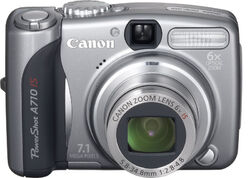 Canon-powershot-a710 front