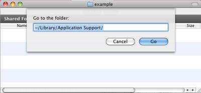 Go-to-library-folder-window