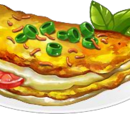 Cheddar Omelette