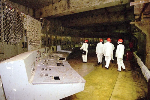 Nuclear disaster at Chernobyl