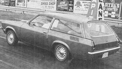 73 Vega wagon - Super Stock Feb. 1973