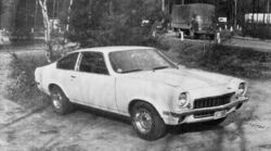 1971 Vega 2300 coupe-Autocar March 1971
