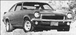 1971 Vega - Motor Trend Hall of Fame - June 1973