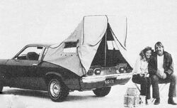 Vega Hatchback Hutch - Wheels Afield Feb. 1973