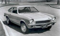 1972 Vega Hatchback press photo