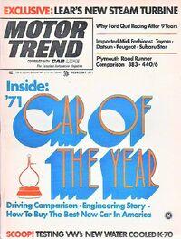 Motor Trend Feb. 1971