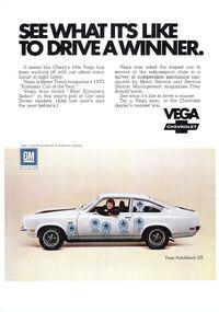 1973 Vega Ad