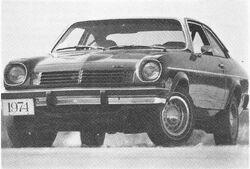 1974 Vega - Motor Trend Jan. 1974