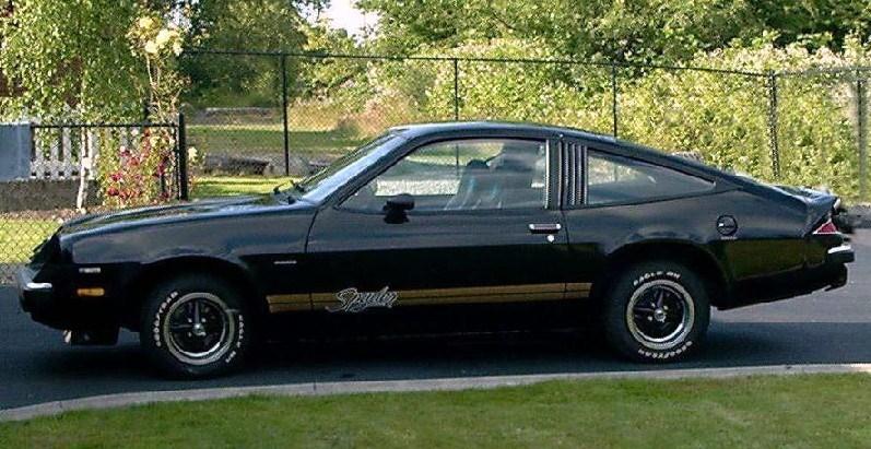 SOLD >1977 Chevrolet Monza Spyder V8 Automatic A/C Only 10K ...