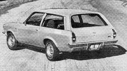 Vega GT Kammback Hot Rod March 1972