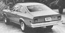 1974 Vega Hatchback