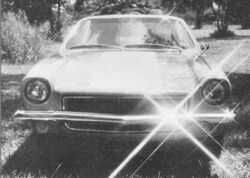 Millionth Vega - Hot Rod Dec.1973