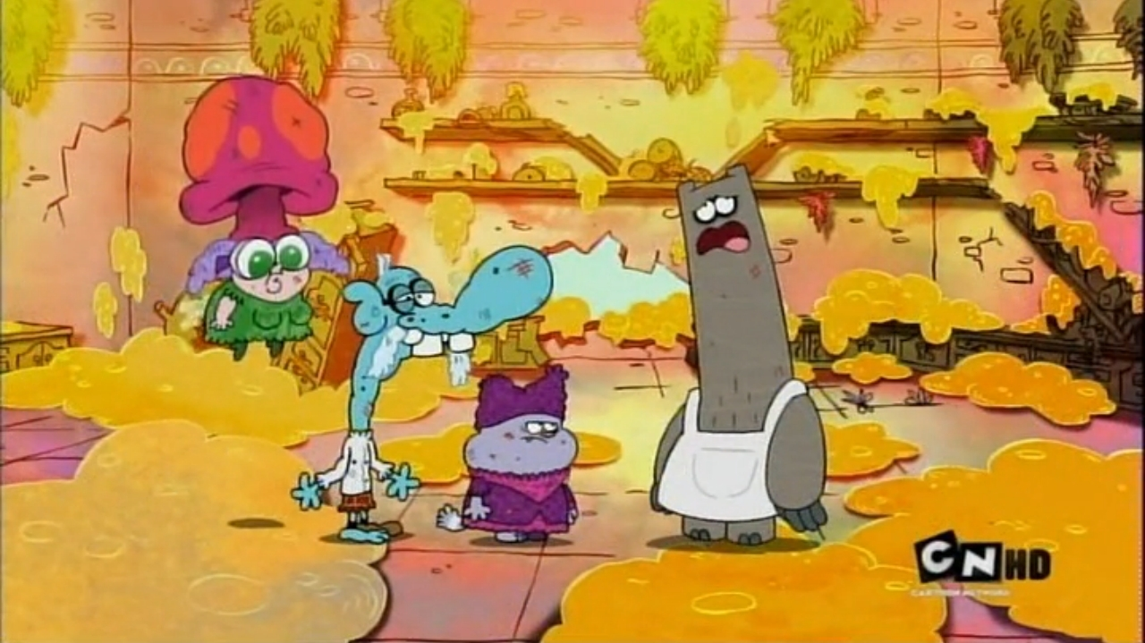 Chowder Characters Mung