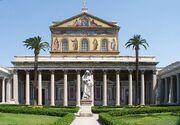 Roma San Paolo fuori le mura BW 1