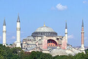 Hagia Sohpia Church in Istanbul, Turkey