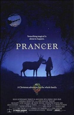 Prancer film poster