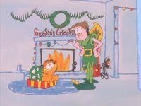 Garfield's Christmas dream