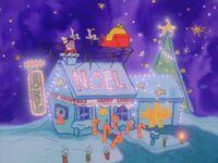 Jon's house in Garfield's dream