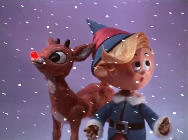 File:Rudolph and Hermey in a snowstorm.jpg