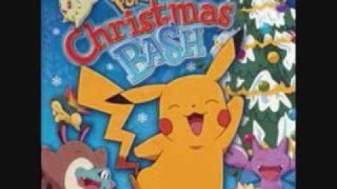 PkmnChrstmsBsh - 02 I'm giving Santa a Pikachu for Christmas