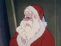 Santa in the Bonkers Christmas episode