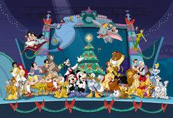 Mickeys Magical Christmas Cast