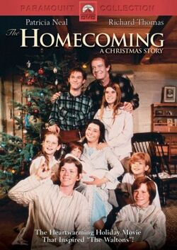 The Waltons Homecoming DVD cover