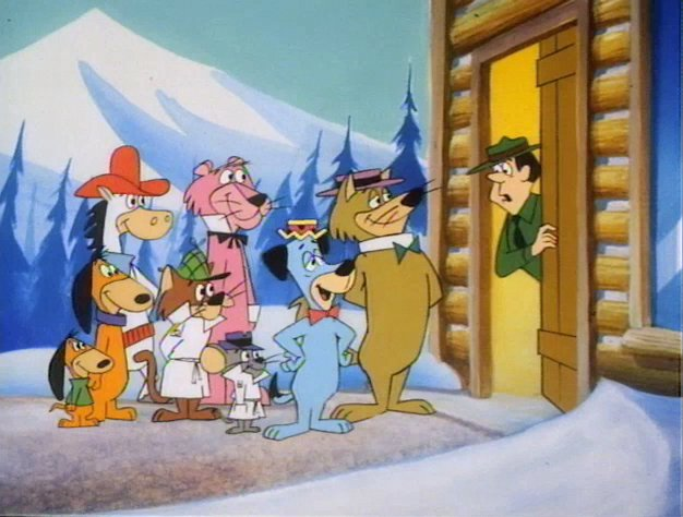 File:Ranger Smith meets Huckleberry Hound and friends.jpg