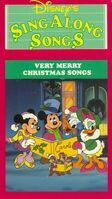 Disney sing along songs very merry christmas songs christmas