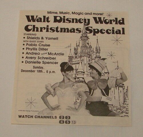 File:WaltDisneyWorldChristmasSpecial1978Ad.jpg