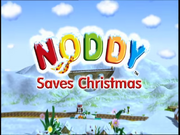 Noddy christmas title card