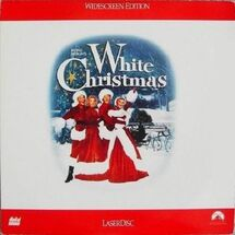 WhiteChristmas Laserdisc