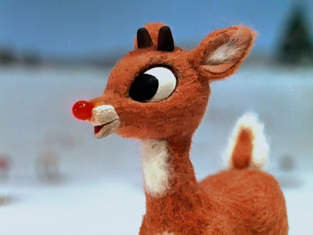 Rudolph the blowjob reindeer