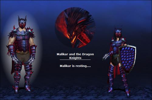 Malikar and the Dragon Knights