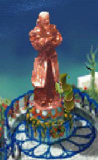 Viper Statue Man