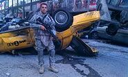 US Army on the set of The Avengers 2