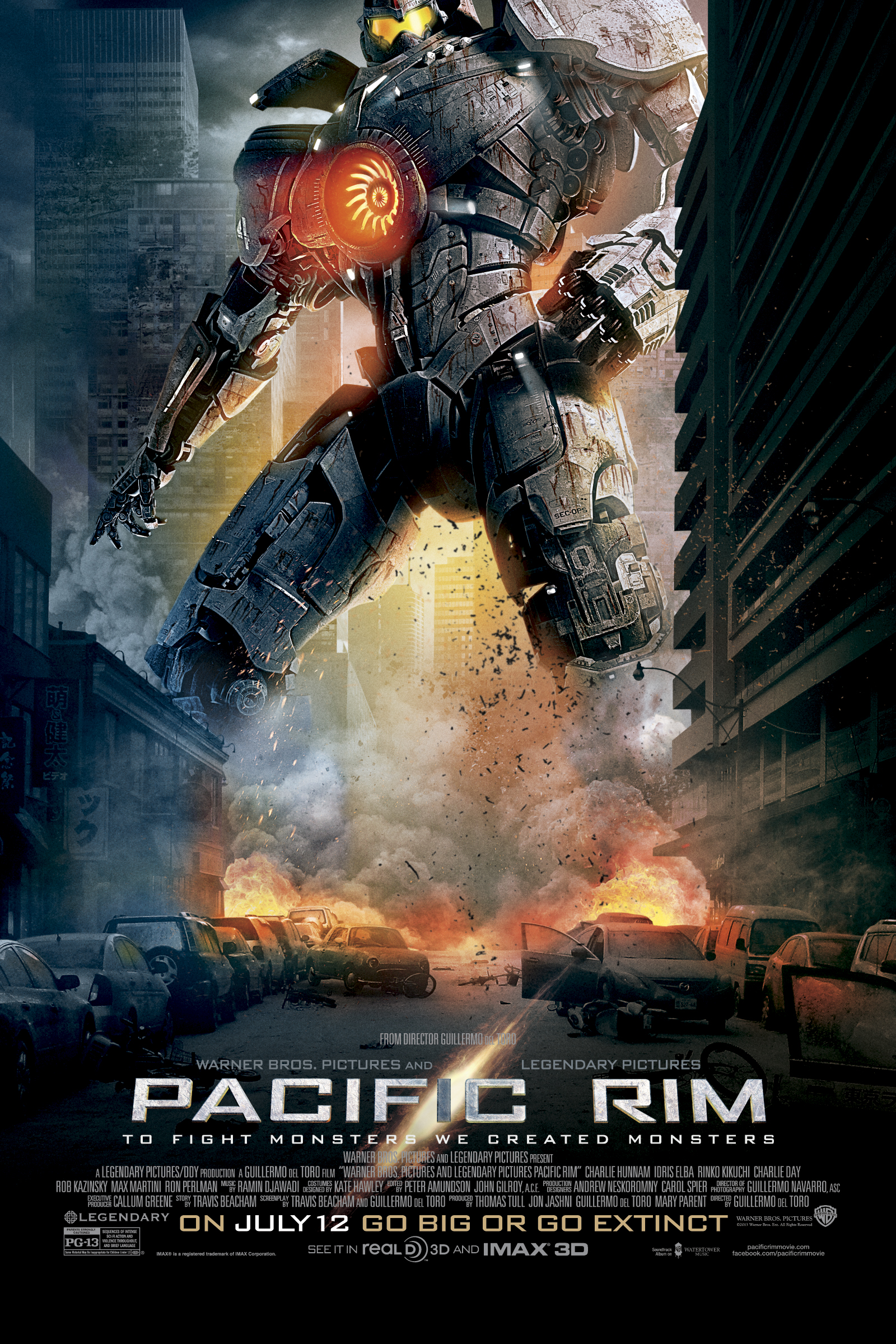 Image result for PACIFIC RIM (2013)
