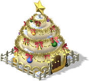 Holiday Cake House-SW